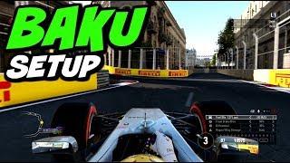 F1 2017 BAKU HOTLAP + SETUP (1:40.534)