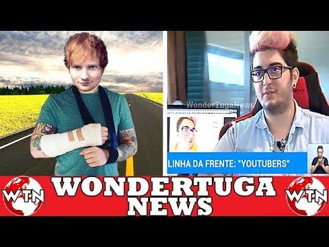 Ed Sheeran atropelado! Reportagem com os...