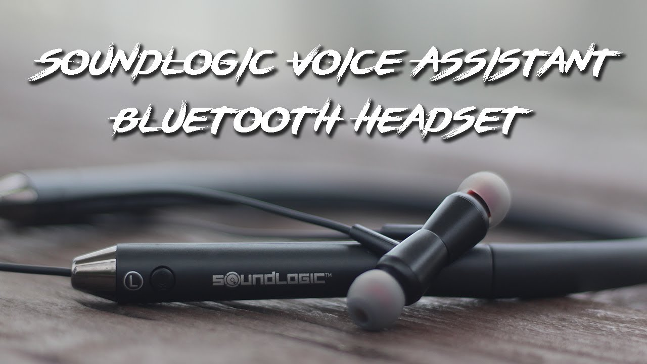 SoundLogic Voice Assistant Bluetooth Headset Unboxing & Review 🔥