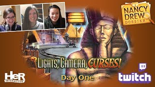 Nancy Drew Dossier: Lights! Camera! Curses! [Day One: Twitch] | HeR Interactive
