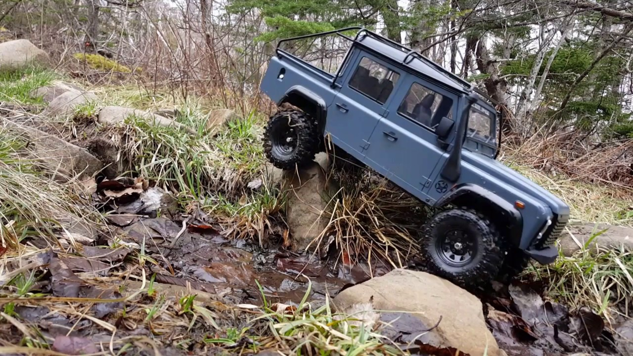 hight resolution of defender d110 pickup gcm cmax rc on delaps cove hiking trail