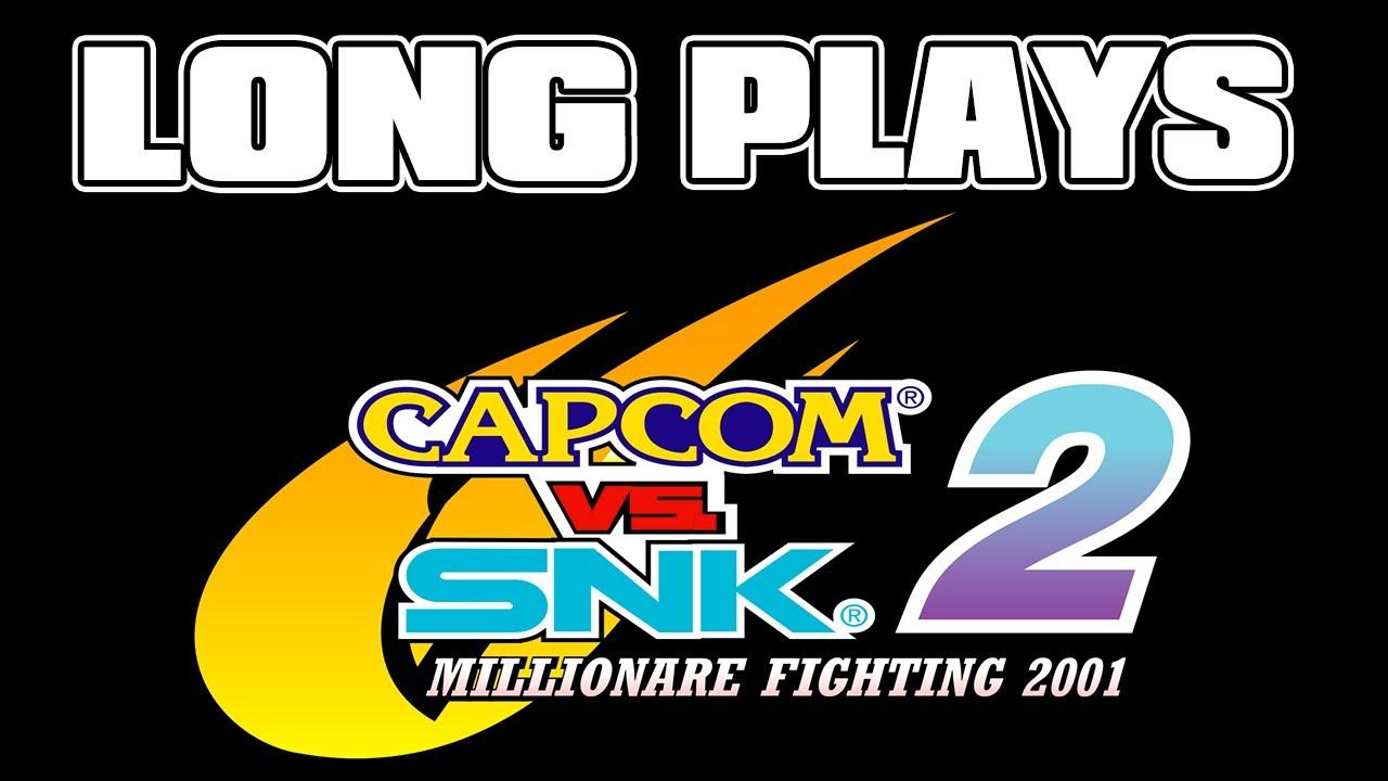 Capcom vs. SNK 2: Mark of the Millennium 2001(Arcade version) - Até o fim - Long plays LIVE #01