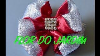 Laço em 6 minutos – Ribbon bow – DIY