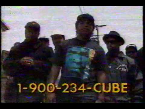 Ice Cube amerikkka's most wanted INFOMERCIAL 1990 pump it up TV DROP