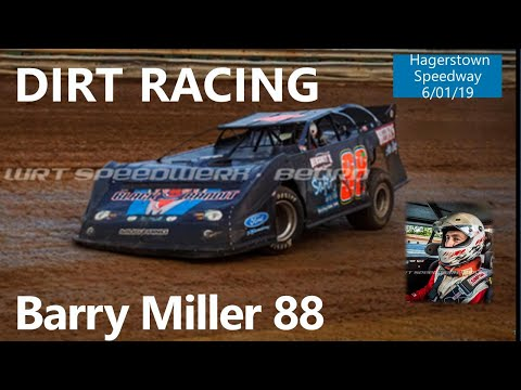 Barry Miller LMS Feature Part #2 @ Hagerstown Speedway 6-1-19
