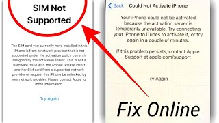 Bypass iPhone iCloud activatio…