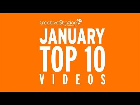 CreativeStation January 2018 Top 10 Video Arts