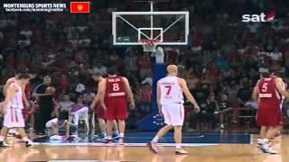 Montenegro vs Serbien  (EuroBasket Qualification) 2 september 2012 __ RTCG