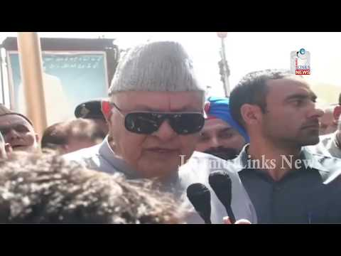 Release separatists so that they can speak to Home Minister: Farooq Abdullah