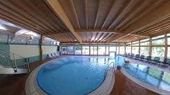 Unteres Innenbecken im Schwimmbad im Hotel Sonnenhügel Bad Kissingen, Familotel Rhön
