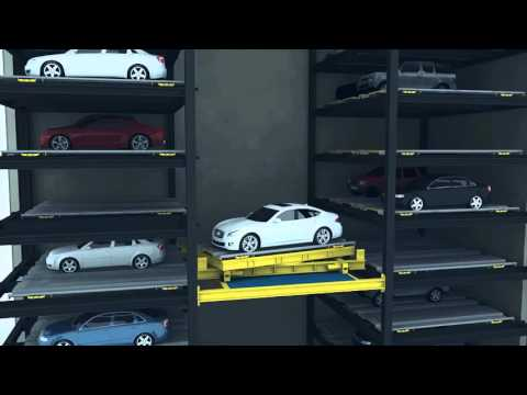 CityLift - Tower - Fully Automated Car Parking Lift
