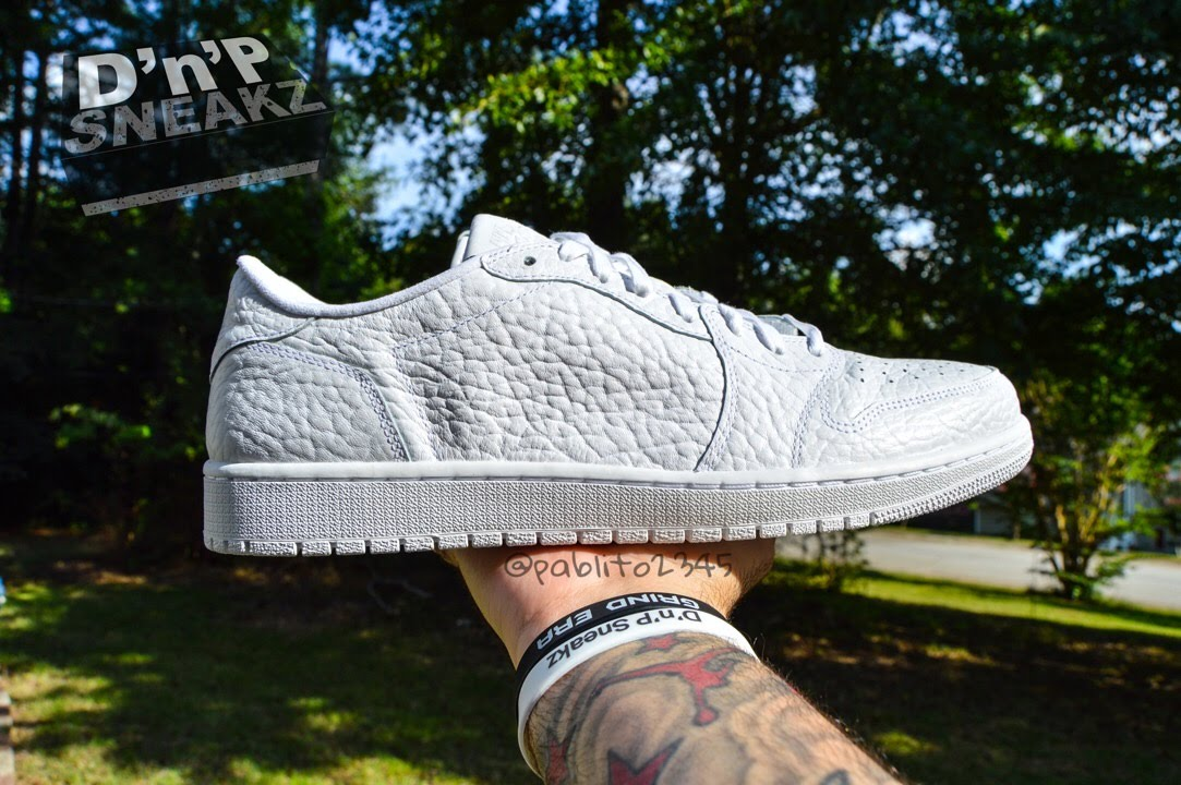 d29f99951a23a6 Air Jordan 1 Low NS Swooshless  Triple White  Review... - YouTube