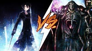 Sword Art Online vs Overlord. Разбор аниме в мире MMORPG