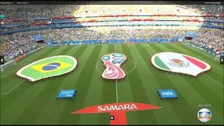Baixar Capela Hino Nacional Brasileiro - Brasil x México - 02/07/18 - Rússia 2018