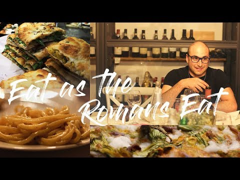 What locals eat in a day in Rome | Food Tour