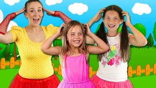 Head Shoulders Knees and Toes with Charli's Crafty Kitchen | Kids nursery rhymes