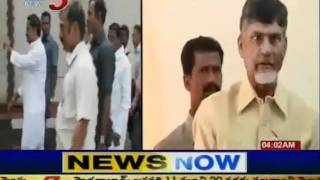 Telugu Political News - Chandrababu Bike Rally Against Liquor Rates (TV5)