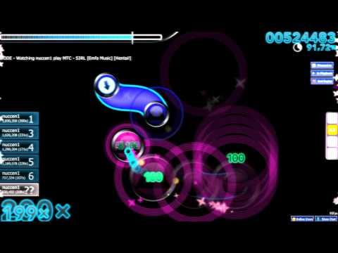 nuccen1 - MTC - S3RL [Emfa Music] [Hentai!] Plays Osu!