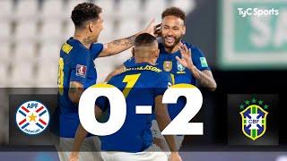 Paraguay 0-2 Brasil | Eliminatorias a Qatar 2022 - Fecha 8