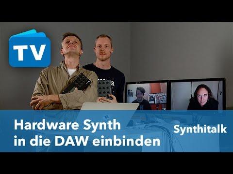 Hardware DAW Integration & weitere Synthi News