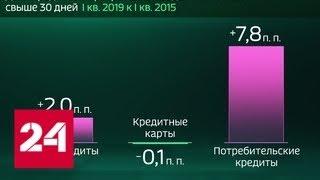 Россия в цифрах. Кто тратит больше половины дохода на кредиты - Россия 24