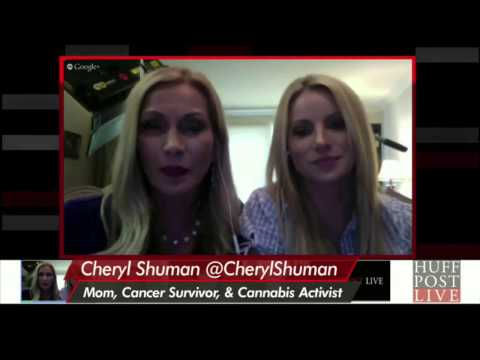 Huff Post Live Interviews Cheryl Shuman Beverly Hills Cannabis Club & Marijuana Moms