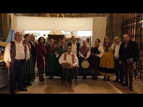 Villancicos con las pandereteras e instrumentistas de la Agrupación Nuestra Señora de Covadonga
