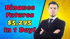 Binance Futures I Made $5,295 Trading Leverage Today