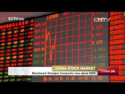 Benchmark Shanghai Composite rises above 5,000