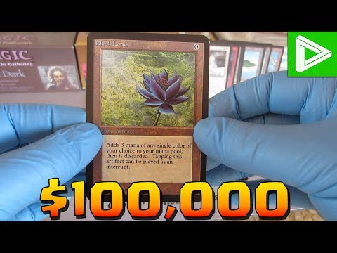 Top 10 Most Expensive & Rare Magic The Gathering Cards (MTG)