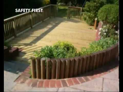 How to Build a Deck  Part 02    Introduction  How to Lay Wodden Garden Decking with Q Deck Products