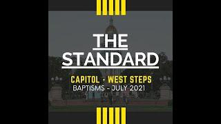 Baptism on Denver Capitol Steps -- Friday, 7/30 -- THESTANDARD Youth Conference 2021