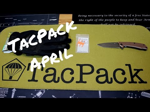 TACPACK Subscription Box Review - April 2018
