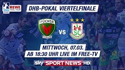 DHB-Pokal Viertelfinale LIVE im Free-TV