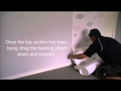 How to hang removable wallpaper | The Wall Collective