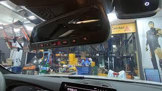 BMW 530I 레드타입 전용 듀얼 하이패스룸미러를 설…