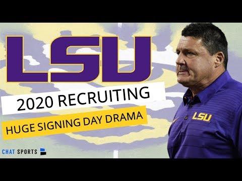 LSU Recruiting: 2020 Recruiting Rankings On Signing Day + LSU Lands Arik Gilbert & Elias Ricks