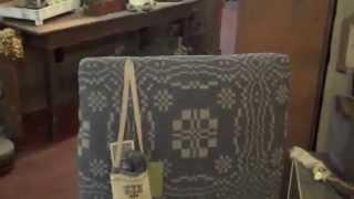 Fireside Make-do Chair By  Primitiques, Llc $795.00 Retail