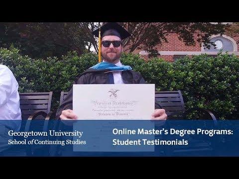 Online Master's Degree Programs: Student Testimonials