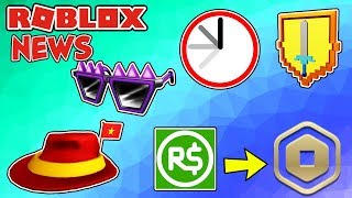 ROBLOX NEWS: New Robux Logo, Promo Code, Leaked Items & RB Event Reminder