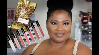 NEW!!!  Pat McGrath LUST Lip Gloss | Lip Swatches + Giveaway Announcement(closed)