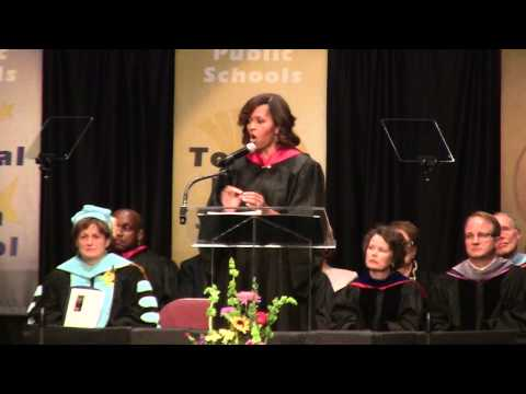 Michelle Obama Speaks at Topeka Senior Recognition Assembly (Full Speech)