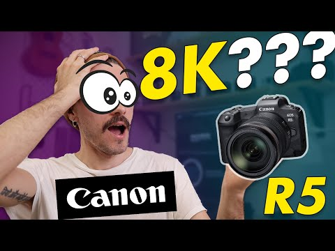 Canon EOS R5 8K - ЛУЧШАЯ КАМЕРА ДЛЯ СЪЕМКИ ВИДЕО