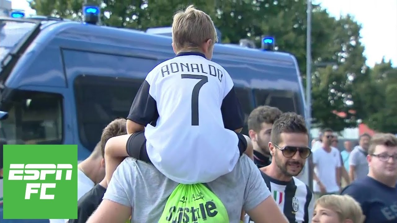 Cristiano Ronaldo S Juventus Debut Vs Chievo Had Electric