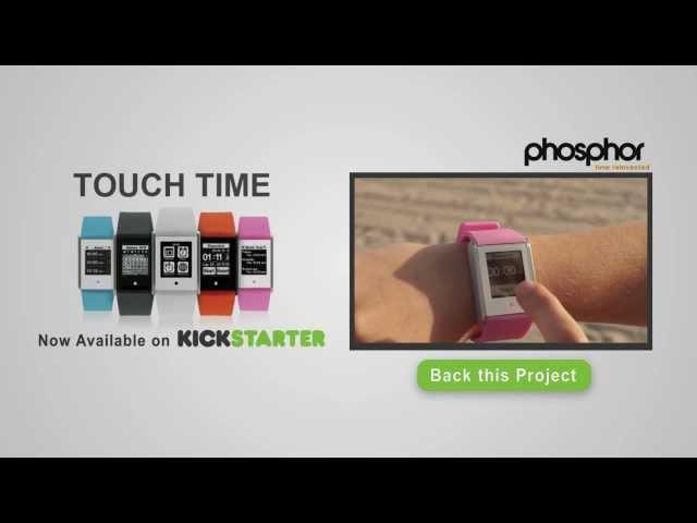 Touch Time Kickstarter Campaign