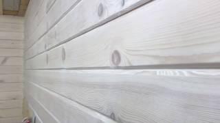 видео Чем покрасить деревянный дом снаружи и внутри?