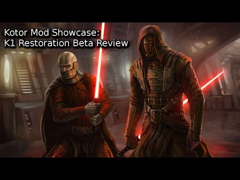 Kotor Mod Showcase: K1 Restoration Beta Review [K1]