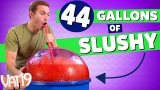 World's Largest Slushy Maker (44 gallons!)