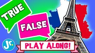 PLAY GAME - EIFFEL TOWER - TRUE or FALSE (INTERACTIVE GAME!)
