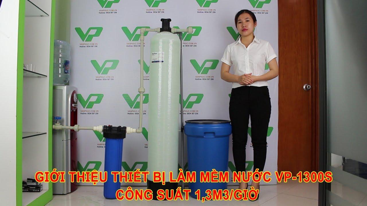 Giới thiệu thiết bị làm mềm nước VP-S1300 Công suất 1,3m3/giờ